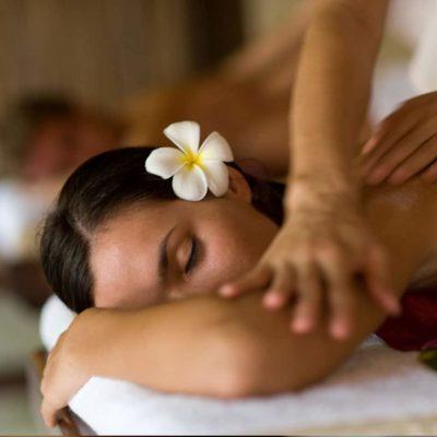 Massagem para casais Vila Spa.